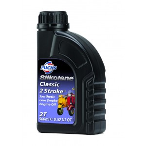 Silkolene Classic 2 Stroke Oil Scoot - 500ml