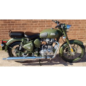 Royal Enfield Classic Military - Battle Green £4499+OTR