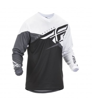 Fly Racing 2019 F-16 Motocross Jersey White Grey