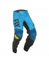 Fly Racing 2019 F-16 Motocross Race Pants Blue Hi-Vis
