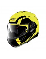 Nolan N100-5 Flip Front Helmet Matt LED Yellow
