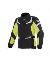 Macna Sektor Touring Style Jacket Neon Yellow