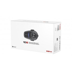 Sena 10S Single Motorcycle Bluetooth Communication System