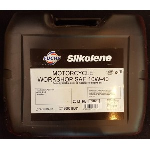 Silkolene 10W40 Workshop Oil - 20 Litres