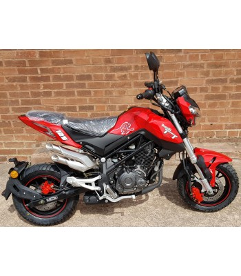 Benelli Tornado Naked T 125 Red - £2199+OTR