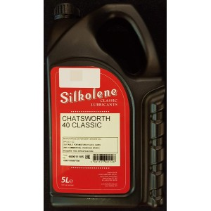Silkolene Chatsworth SAE 40 Classic Oil - 5 Litres