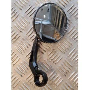Genuine Royal Enfield GT650 Bar End Mirrors Black