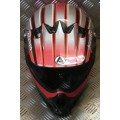 Acerbis Red Adult MX Helmet