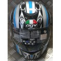 AGV K Series Orient Silver Blue Black Helmet *LAST ONE*