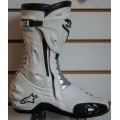 Alpinestars SMX-R White Motorcycle Boot