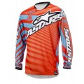 Alpinestars Braap Kids Race Shirt Red Blue Orange