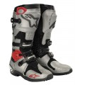 Alpinestars Tech 10 Motocross Boots - Silver