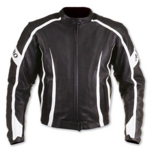 A-Pro SteelBlade Leather Motorcycle Jacket - Black