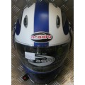 Arashi Monsoon Motorcycle Helmet - Matt Blue