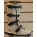 Berik Contender Kids Motocross Boots - Silver