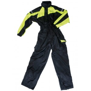 Bering Iwaki Motorcycle Waterproof Oversuit - Yellow
