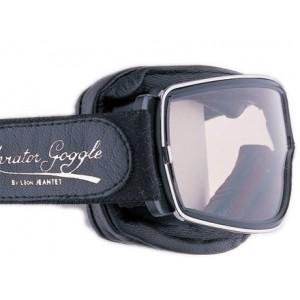 Davida Retro Pilot T1 Motorcycle Goggles - Chrome