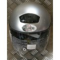 Demon City Gloss Silver Helmet