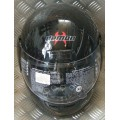 Demon Street Gloss Black Helmet
