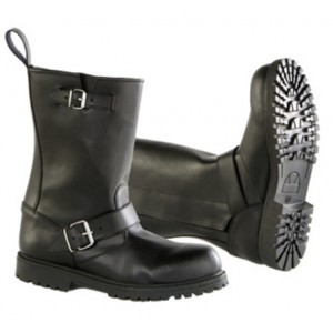 Diora Hawk Waterproof Motorcycle Black Boots