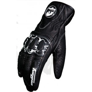 Furygan Elegant Lady Vented Motorcycle Gloves - Black