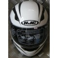 HJC CS-14 White Black Full Face Helmet