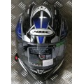 KBC Force RR Blade Blue and Black Helmet