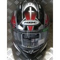 KBC Force RR Blade Red and Black Helmet