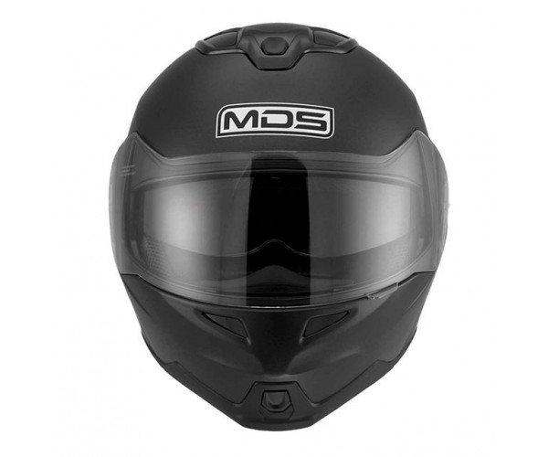 MDS MD200 Flip Front Motorcycle Helmet - Matt Black