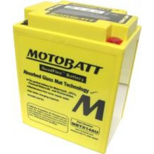 Motobatt battery MBTX14AU  replaces CB14B2 YB14B2 CB14LA2 YB14LA2