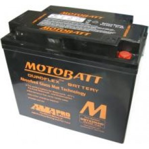 Motobatt battery MBTX20U  replaces CB16B YB16B CB16LB YB16LB