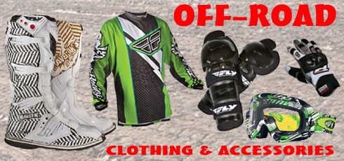 Off-Road Clothing & Accessories