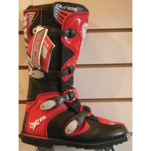 Oxtar Dunes Red Motocross Boots - Red