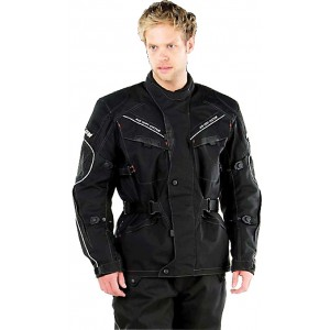 Rayven Zenith Mesh Waterproof Motorcycle Jacket - Black
