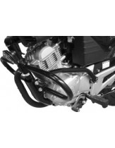 Renntec Engine Bars Crash Protectors Yamaha YBR125 - Black