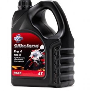 Silkolene Pro 4 15W50 Motorcycle Race Oil - 4 Litre