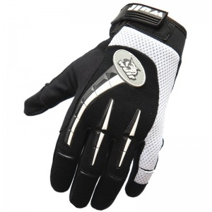 Wulf Libre Motocross Gloves - Black