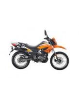 Keeway TX125 Adventure Trail Motorcycle - Orange