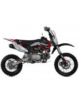 Demon X DXR2 140 Pit Bike Read/White/Black