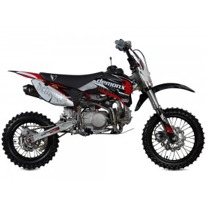 Demon X DXR2 140 Pit Bike Read/White/Black