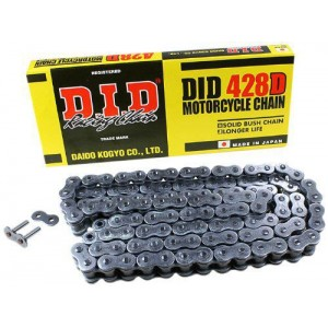 DID 428D Standard Drive Chain 142 Links Black