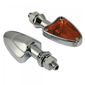 Alloy Shark Head Amber Lens Indicators