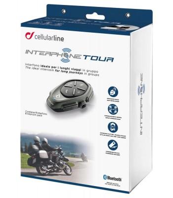 Interphone Tour Bluetooth Intercom Kit Single Pack
