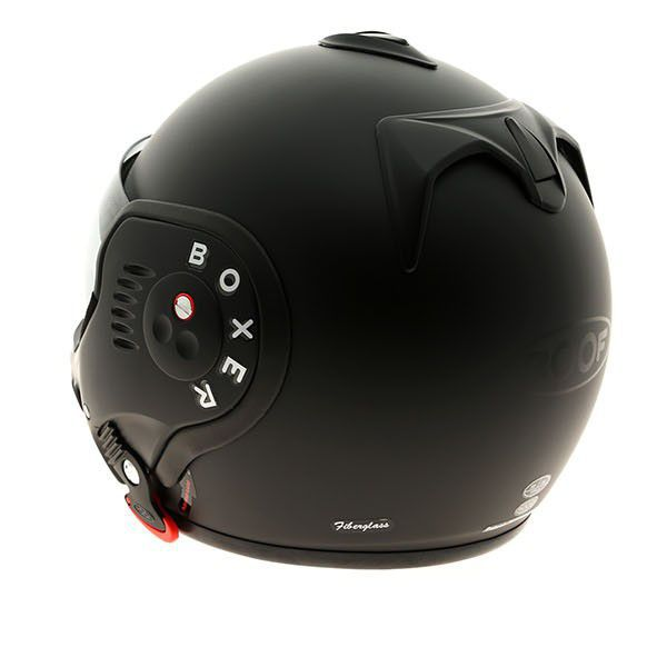 roof boxer v8 modular helmet matt black. Black Bedroom Furniture Sets. Home Design Ideas