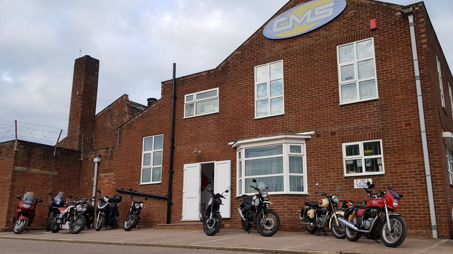 CMS Motorcycles Exeter Shop