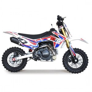 10TEN MX 50R Fully Automatic Junior Dirt Bike Red/White/Blue