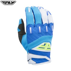 Fly Racing 2017 F-16 Motocross Gloves Blue