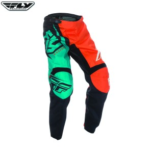 Fly Racing 2017 F-16 Motocross Race Pants Orange Teal