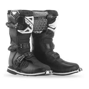 Fly Maverik Kids Motocross Boots Black