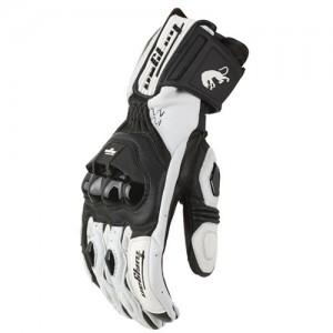 Furygan AFS 18 Leather Racing Summer Motorcycle Glove White